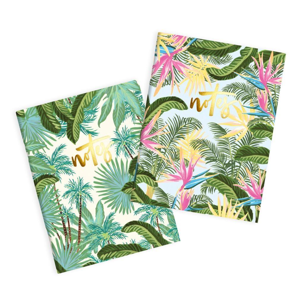 מארז 2 מיני מחברות כריכה רכה- Bird Of Paradise Pocket Notebook Pack