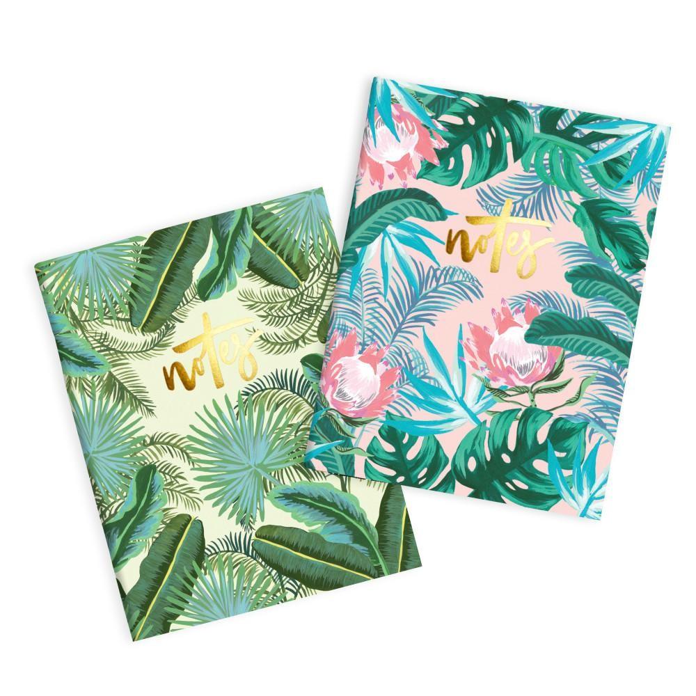 מארז 2 מיני מחברות כריכה רכה- Protea Pocket Notebook Pack