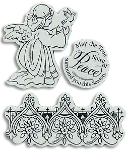 Cling Stamp - Angel
