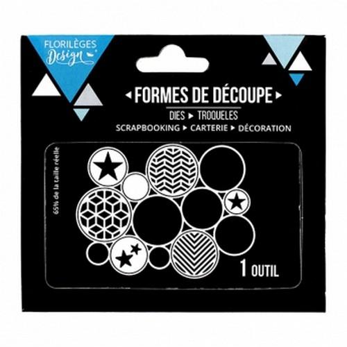 תבנית חיתוך - Des Cercles