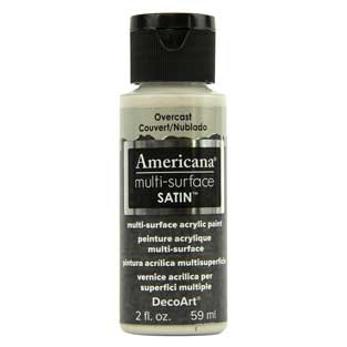Americana Multi-Surface Acrylic Paint - Overcast