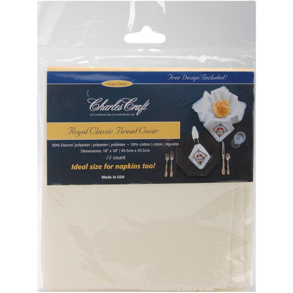 Royal Classic Breadcovers/Napkins- Ivory