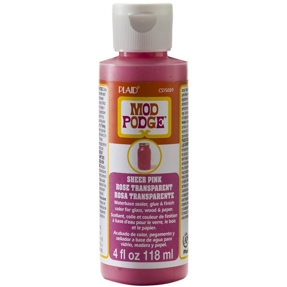 Mod Podge Sheer Color 4oz - Pink