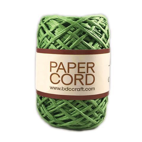 חוט קשירה צבעוני מנייר - ירוק