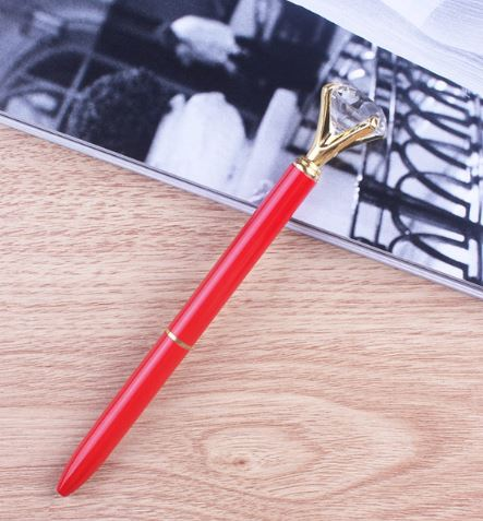 עט יהלום - אדום