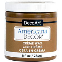Americana Decor - Golden Brown Wax 236 ml