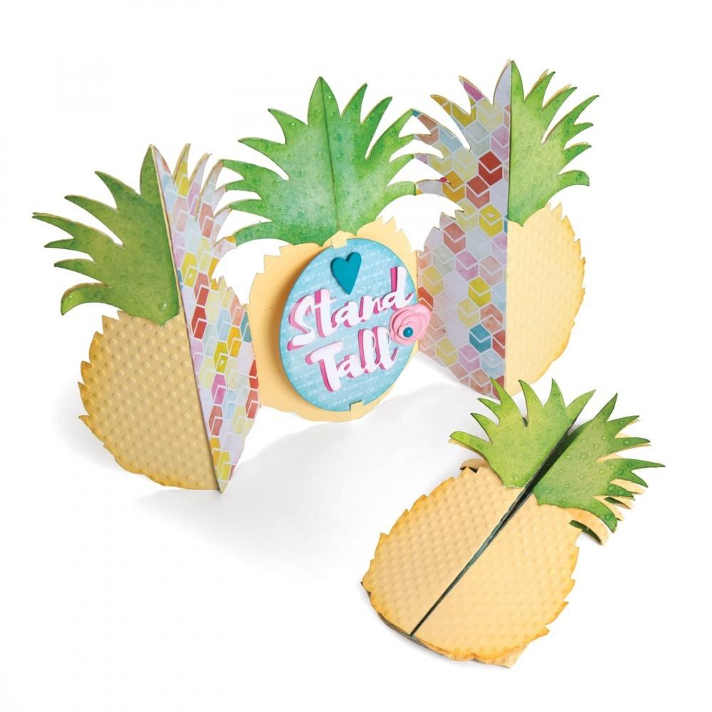 סט תבניות חיתוך - Pineapple