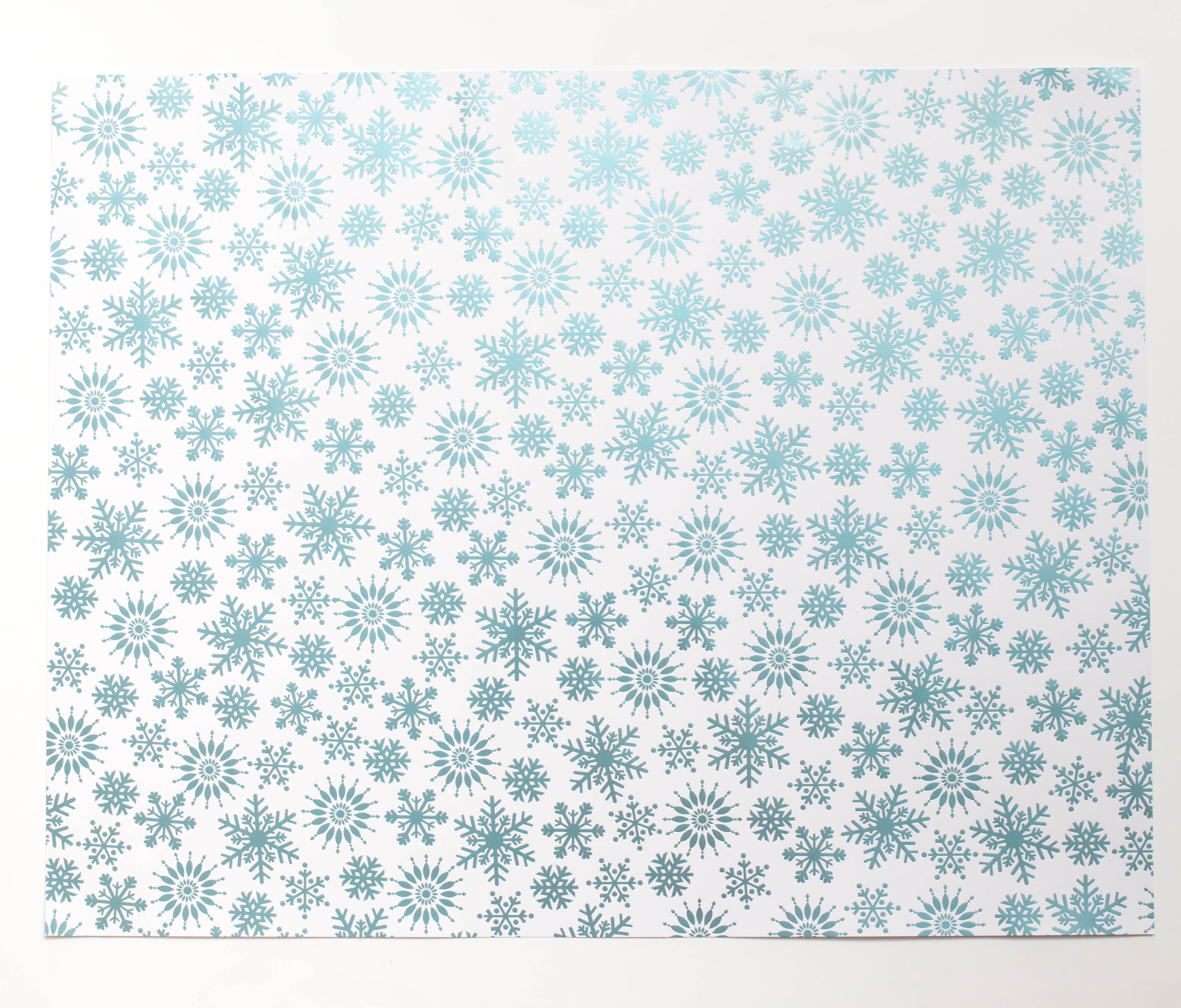 Designer Poster Board - Snowflake