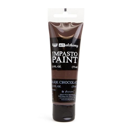 Art Alchemy Impasto Paint - Dark Chocolate