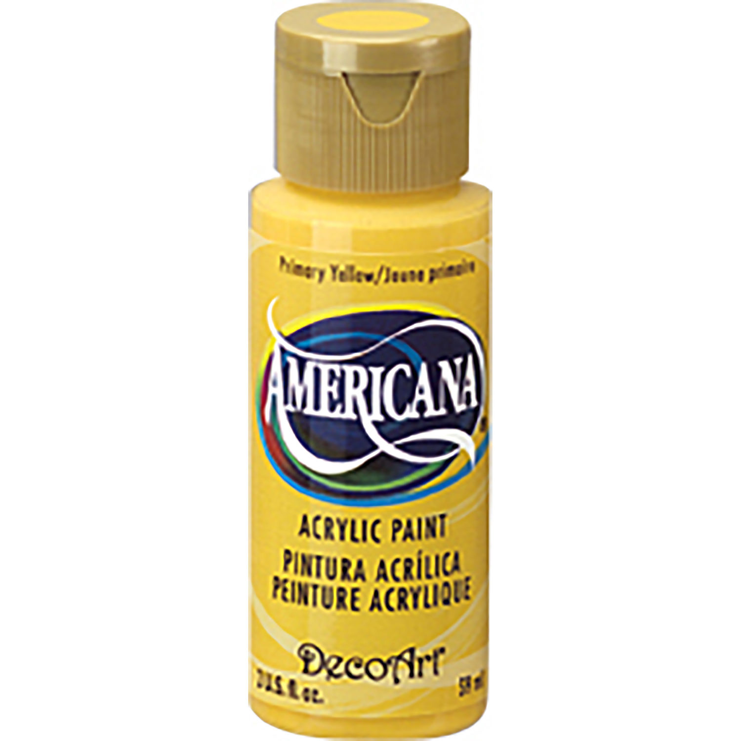 Americana Acrylic Paint - Primary Yellow