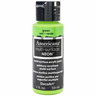 Americana Multi-Surface Neon Paint - Green
