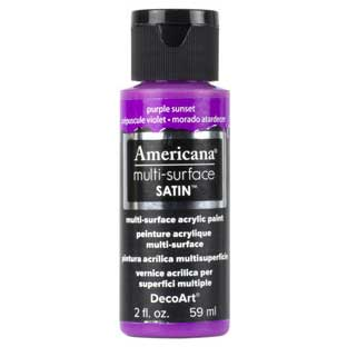 Americana Multi-Surface Acrylic Paint - Purple Sunset