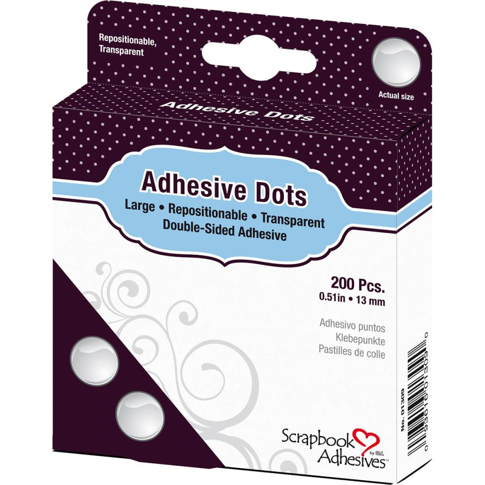 "דבק דו""צ - Adhesives Micro Dots Repositional- 0.51"""
