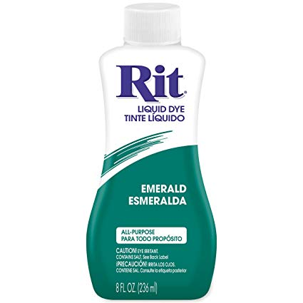 צבע לבדים Rit Dye Liquid - Emerald