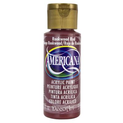 Americana Acrylic Paint - Rookwood Red
