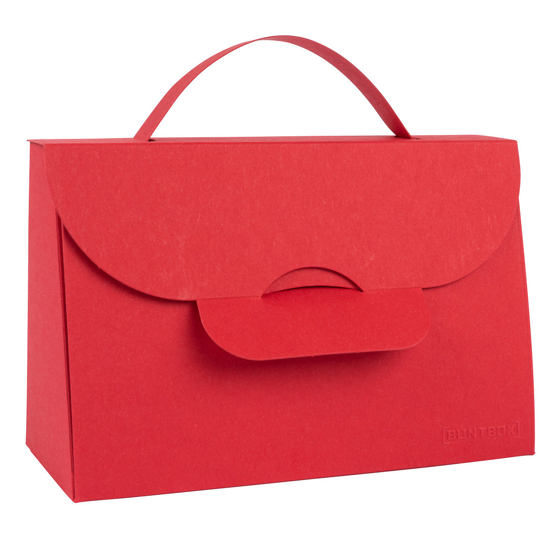BUNTBOX Handbag M - Ruby