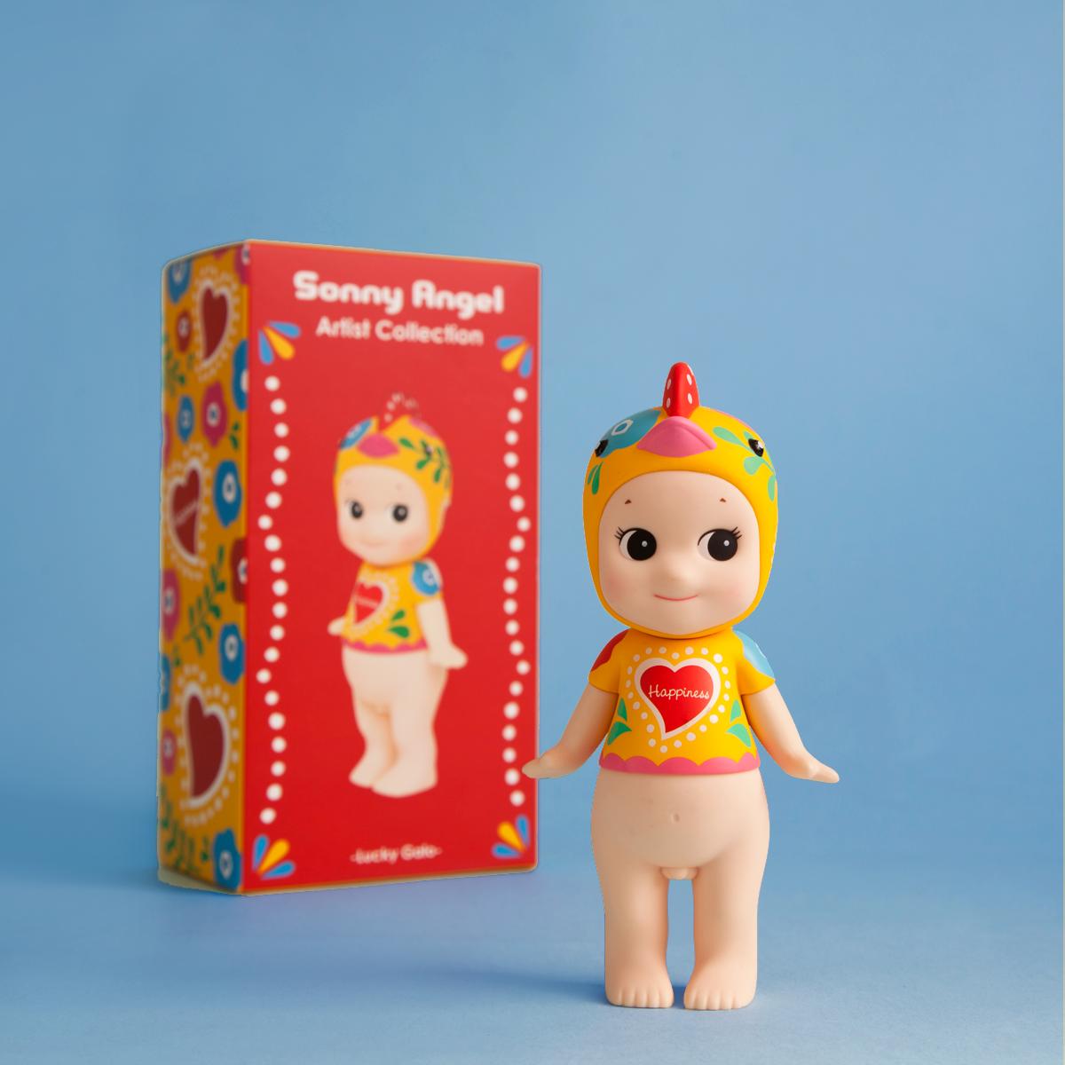 בובת תרנגול מסדרת Sonny Angel- Artist Collection -Lucky Galo