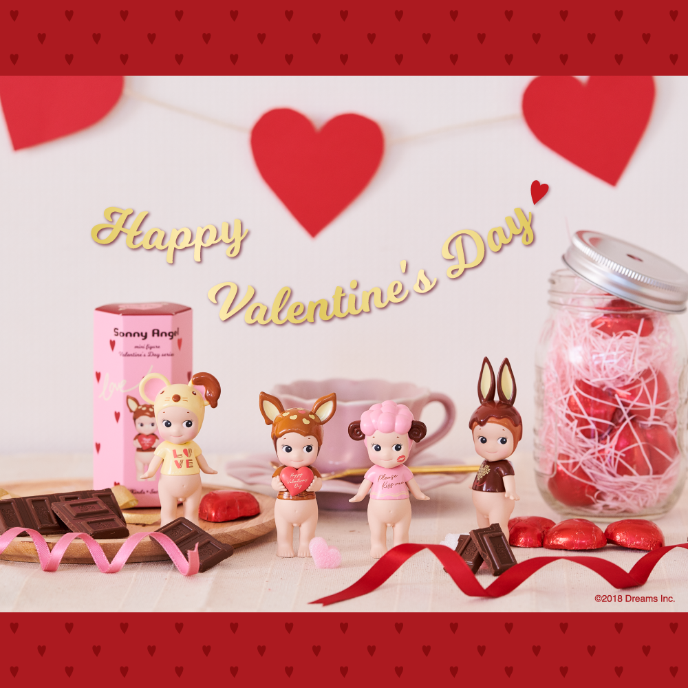Sonny Angel / Mini Angel- Valentine's Day 2019