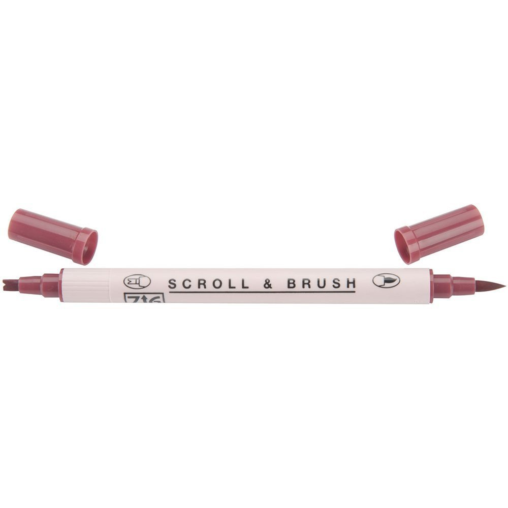 Zig Scroll & Brush Marker - Rose 024