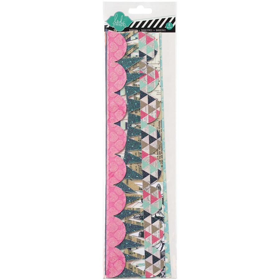 Heidi Swapp Memory Planner - Banner Delights Glitter