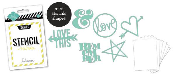 Stencil Mini Kit - Shapes