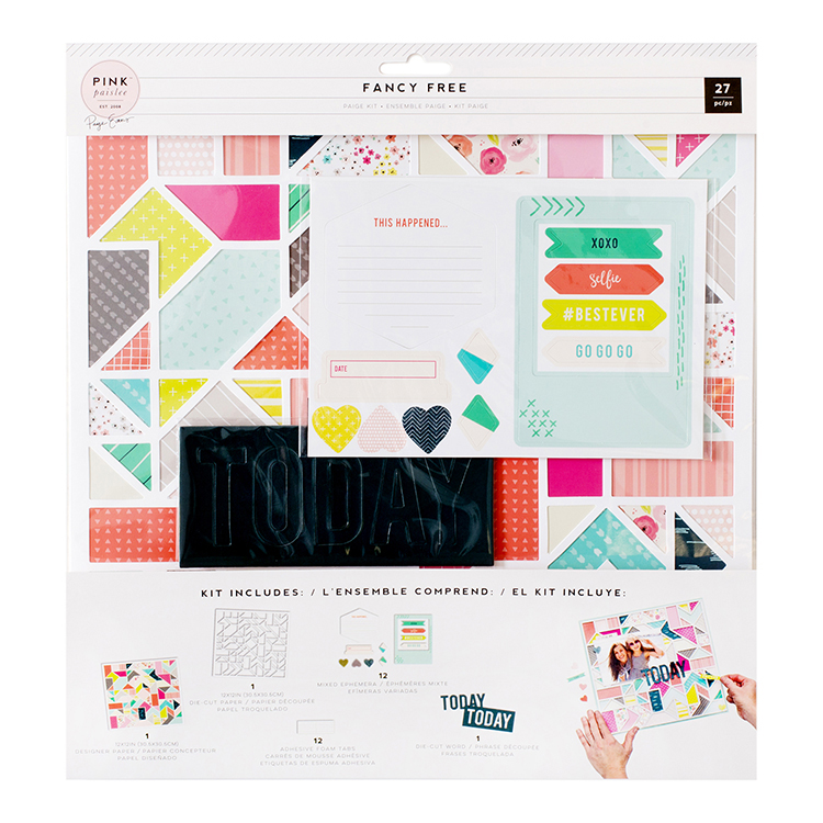 Fancy Free Page Kit - Geometric