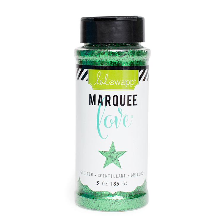 Heidi Swapp Marquee Love Chunky Glitter - Dark Green