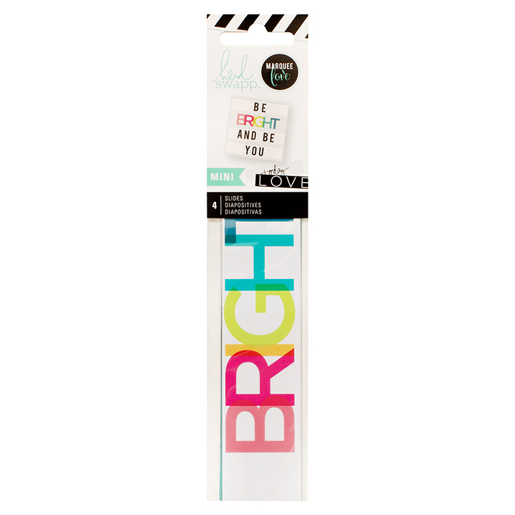 LightBox Collection - Mini Word Strips - Everyday