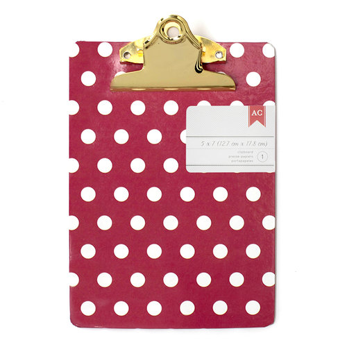 Mini Clipboard - 5X7 - Polka Dots