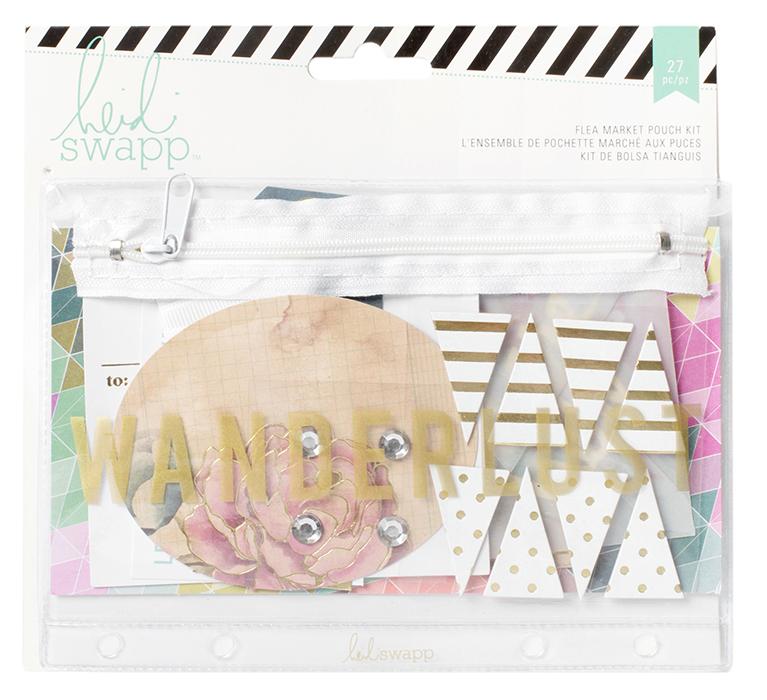 Wanderlust Collection - Flea Market Pouch Kit - Wanderlust