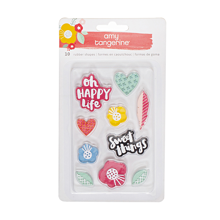 Oh Happy Life - Rubber Shapes