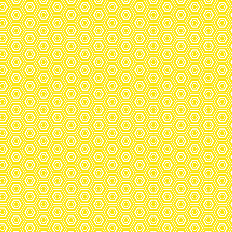 דף קארדסטוק - Core'dinations - Yellow Hexagon