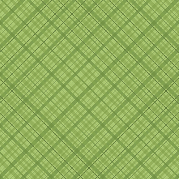 דף קארדסטוק - Core'dinations - Light Green Plaid