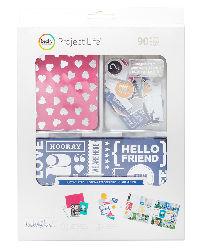 Project Life Value Kit - Just My Type