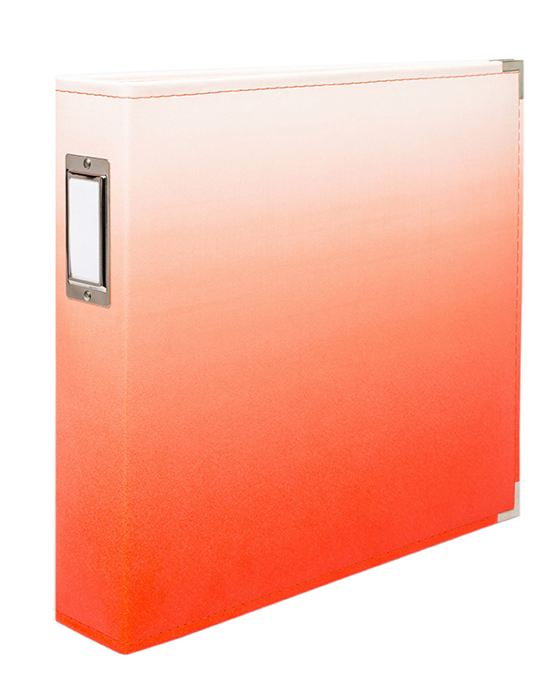"D-Ring 12X12"" Album - Ombre Coral"