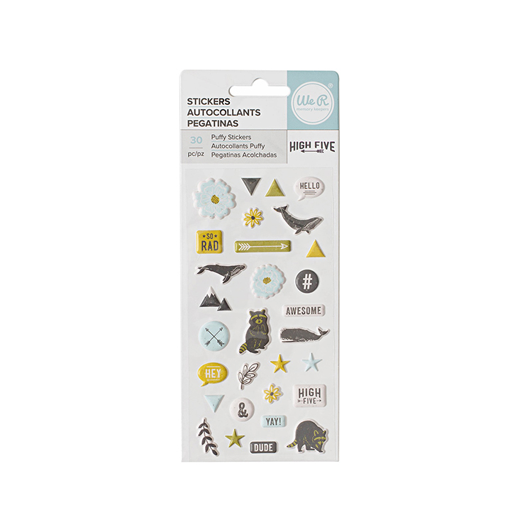 High Five Collection - Puffy Stickers