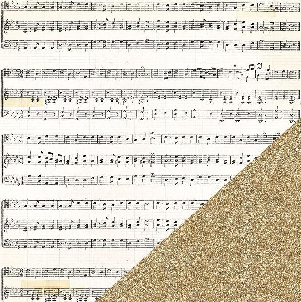 דף קארדסטוק - Confetti - Happy Day