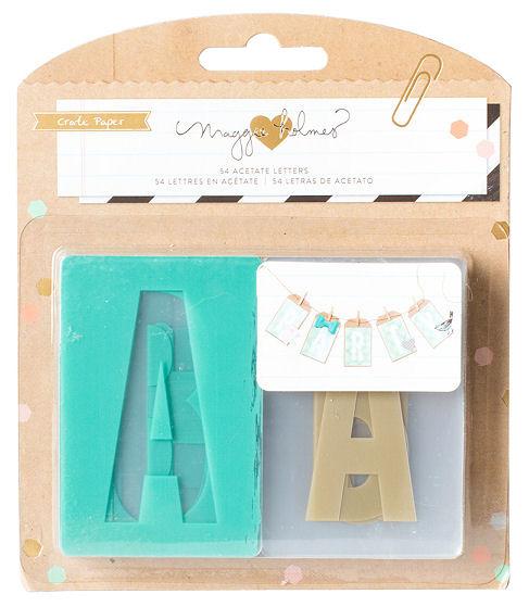 Confetti Collection - Acetate Letter Set
