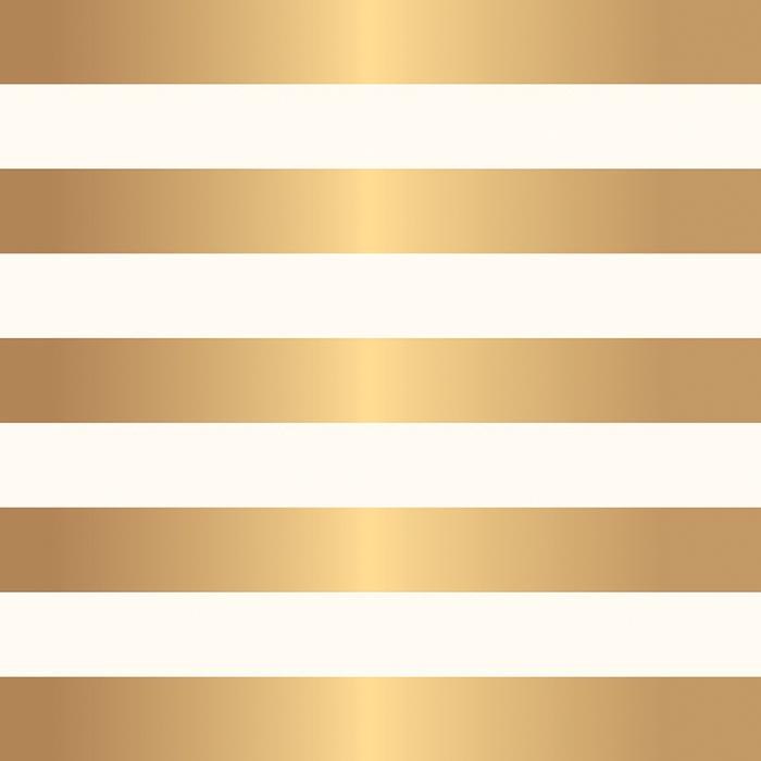דף קארדסטוק - DIY Home Collection - Paper with Foil Accents - Stripe