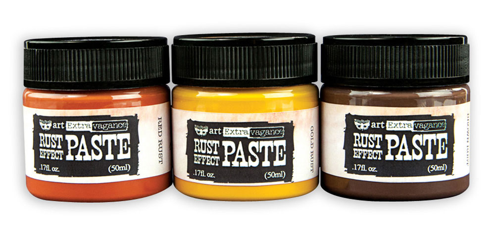 Art Extravagence Rust Effect Paste 50ml Jars
