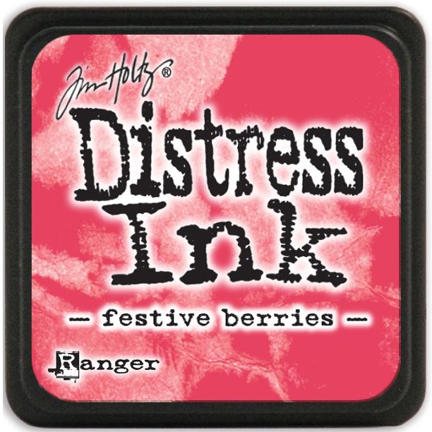 Tim Holtz Distress Mini Ink Pad - Festive Berries