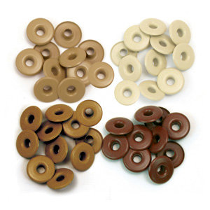 Eyelets - Wide - Brown