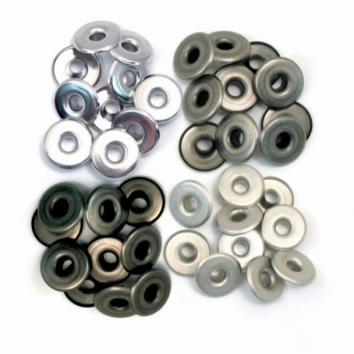 Eyelets - Wide - Cool Metal