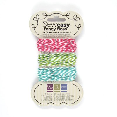 חוט טווין - Sew Easy Fancy Floss - Bakers Twine - Tertiary