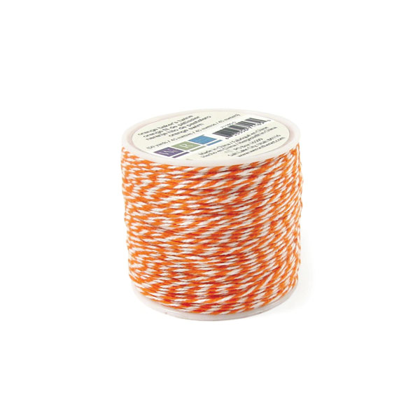 חוט טווין - Sew Easy - Bakers Twine Spool - Orange