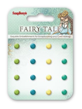 בראדים - Enamel Brads - Fairy Tale 1