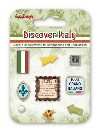 בראדים - Decorative Brads - Discover Italy