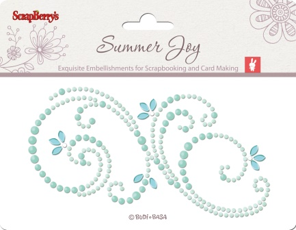 Pearls swirl - Summer Joy 1