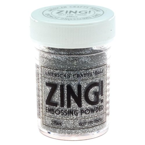 אבקת הבלטה - Embossing Powder - Glitter Silver