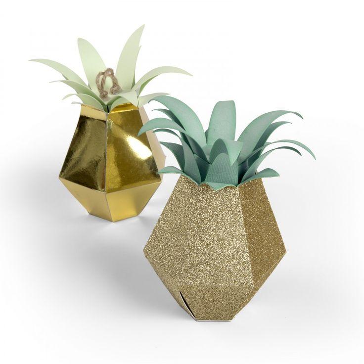תבנית חיתוך - Bigz Pro Die- Box, Pineapple
